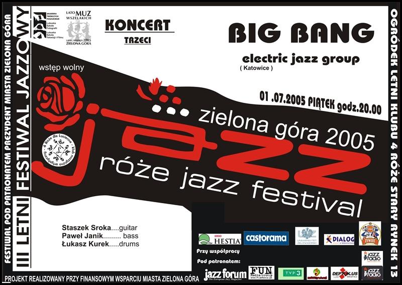 2005_07_01_Róże_Jazz_Festiwal_Plakat_Big_Bang