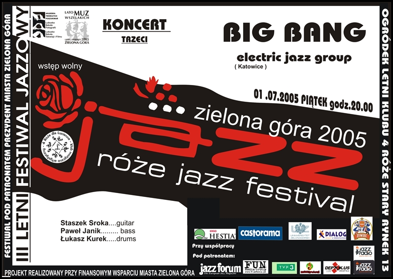 2005_07_01_Róże_Jazz_Festiwal_Plakat_Big_Bang