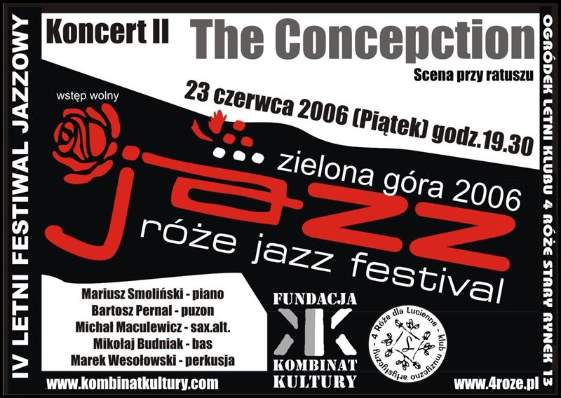 2006_Róże_Jazz_Plakat_Festiwal_The_Concepction_ 23_06