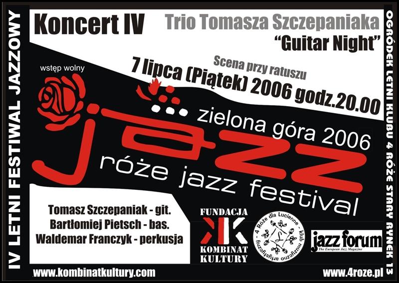 2006_Róże_Jazz_Plakat_Festiwal_Trio_Tomasza_Szczepaniaka_ 07_07