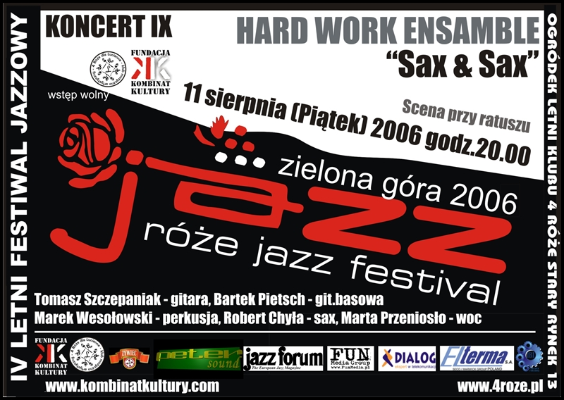 2006_Róże_Jazz_Plakat_Festiwal_Hard_Work_Ensamble_ 11_08
