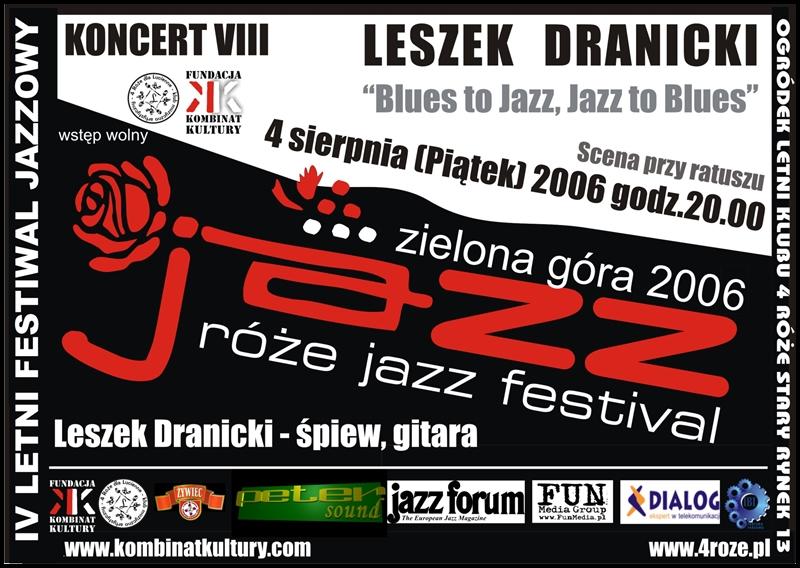 2006_Róże_Jazz_Plakat_Festiwal_Leszek_Dranicki_ 4_08