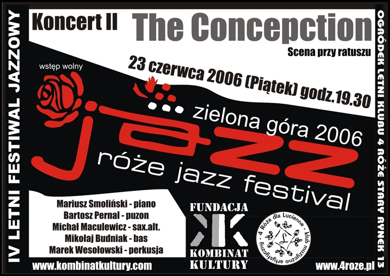 2006_Róże_Jazz_Plakat_Festiwal_The_Concepction_ 23_06