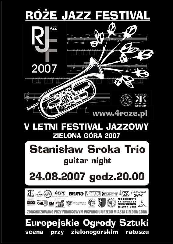 2007_Róże_Jazz_Festiwal_Plakat_Sroka_Trio_ 24_08