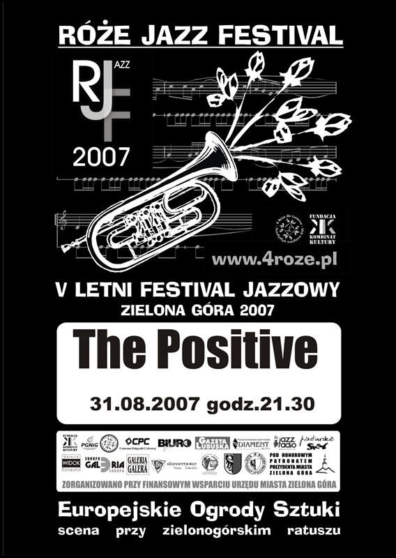 2007_Róże_Jazz_Festiwal_Plakat_The_Positive_ 31_08