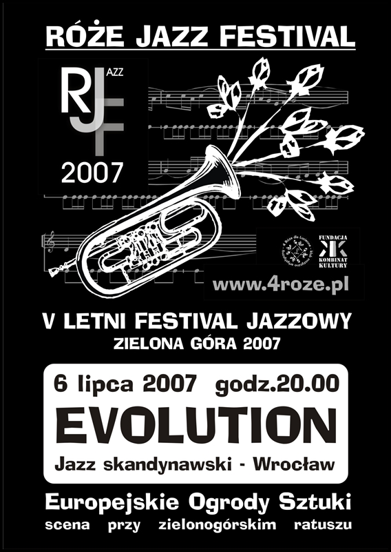 2007_Róże_Jazz_Festiwal_Plakat_Evolutione_ 06_07
