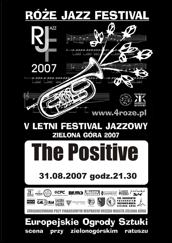 2007_Róże_Jazz_Festiwal_Plakat_The_Positive_ 31_08