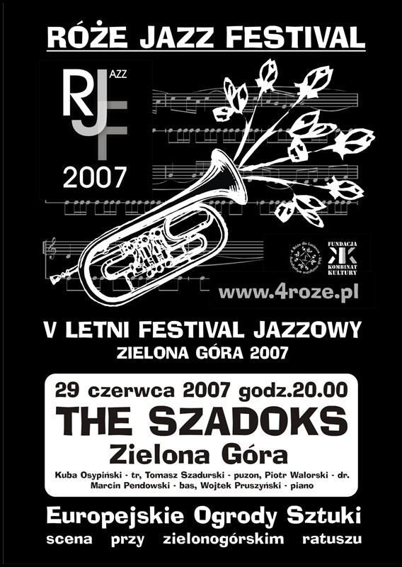 2007_Róże_Jazz_Festiwal_Plakat_The_Szadoks_ 29_06