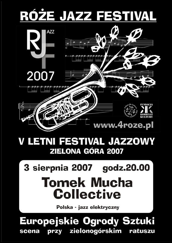 2007_Róże_Jazz_Festiwal_Plakat_Tomek_Mucha_Collective_ 03_08
