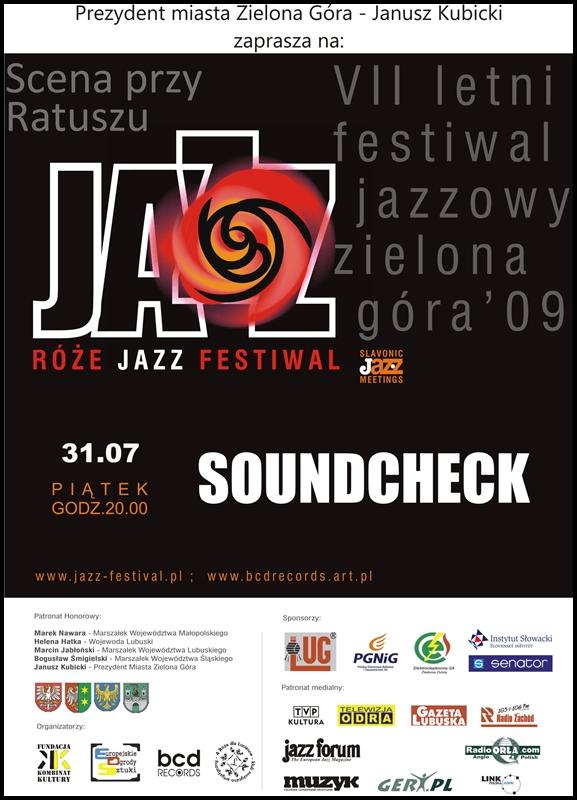 2009_07_31_Róże_Jazz_Festiwal_Plakat_Souncheck_31_07