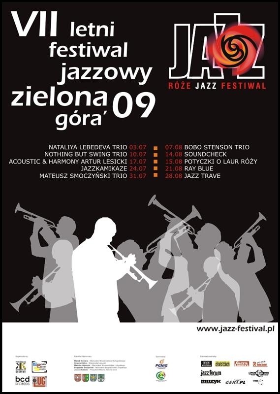 2009_Róże_Jazz_Festiwal_Plakat_zbiorowy