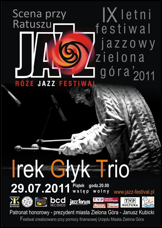 2011 _Róże_Jazz_Festiwal_plakat_Irek_Głyk_Trio