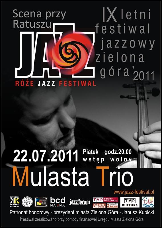 2011 _Róże_Jazz_Festiwal_plakat_Mulasta_Trio