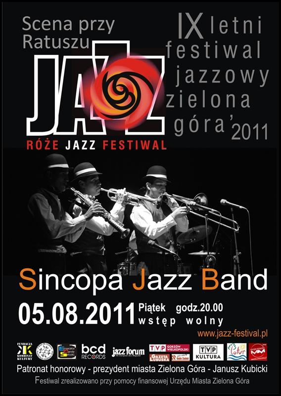 2011 _Róże_Jazz_Festiwal_plakat_Sincopa_Jaaz_Band
