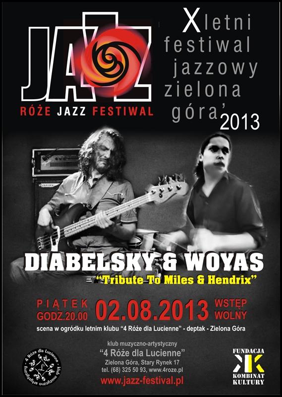 2013_08_02_Róże_Jazz_Festiwal_Plakat_Diabelski_&_Wojas