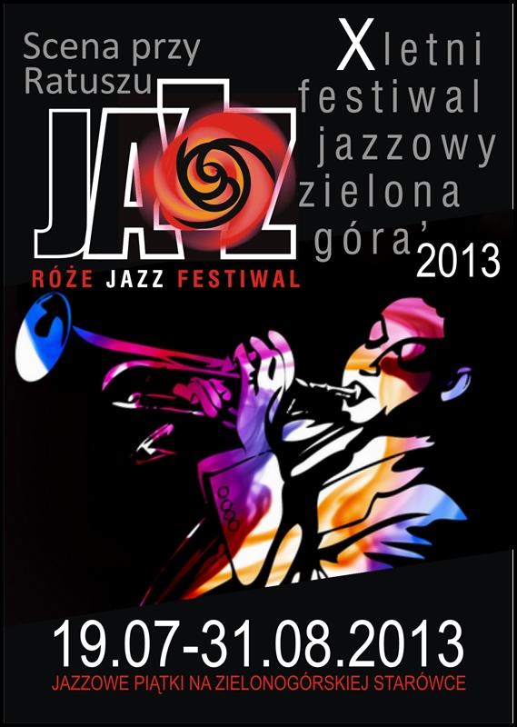 2013_Róże_Jazz_Festiwal_Plakat_ogólny