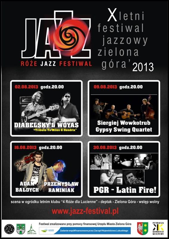 2013_Róże_Jazz_Festiwal_Plakat_zbirczy_2