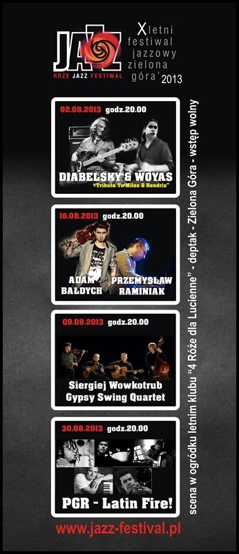 2013_Róże_Jazz_Festiwal_Plakat_Zbirczy