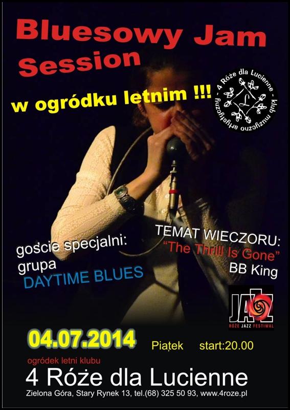 2014_07_04_Roze_Jazz_Festiwal_ Bluesowa_jazzowy_Jam_session_Trio_plakat