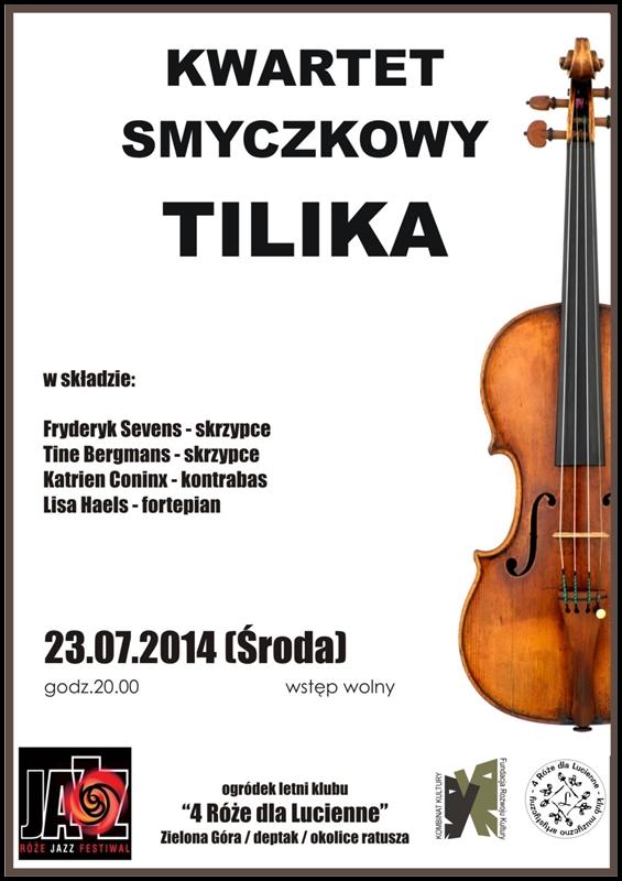 2014_07_23_Roze_Jazz_Festiwal_ TILIKA_Quartet_plakat