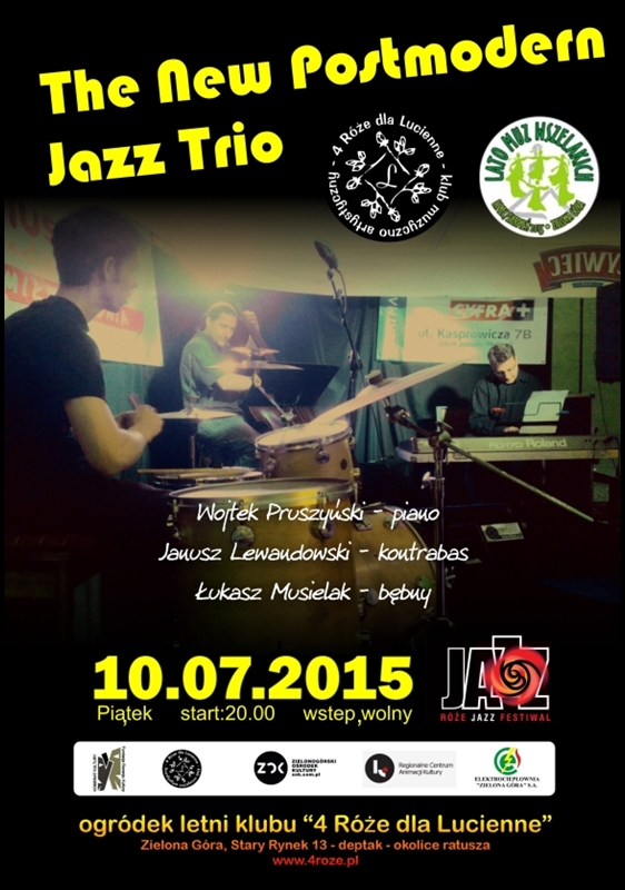 2015_07_10_Roze_Jazz_Festiwal_ The_New_Postmodern_Jazz_Trio_plakat