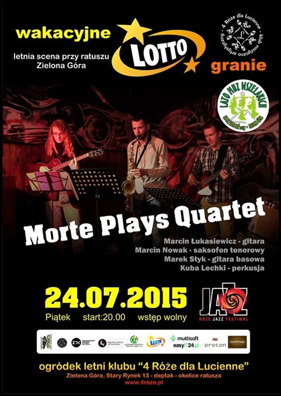 2015_07_24_Roze_Jazz_Festiwal_ Morte_Plays_Quartet_plakat