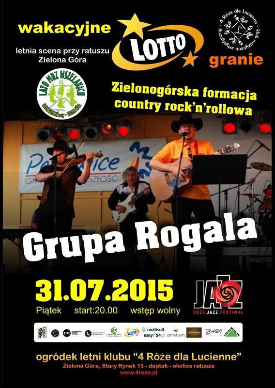 2015_07_31_Roze_Jazz_Festiwal_ Grupa_Rogala_plakat