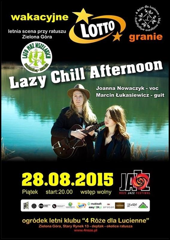 2015_08_28_Roze_Jazz_Festiwal_ Lazy_Chill_Aftrenoon_plakat