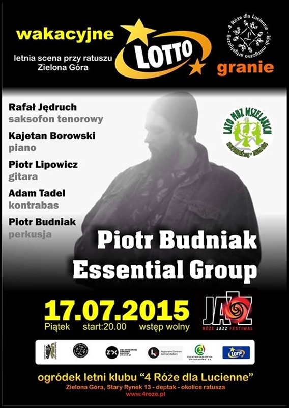 2015_17_24_Roze_Jazz_Festiwal_ Piotr_Budniak_Essential_Group_plakat