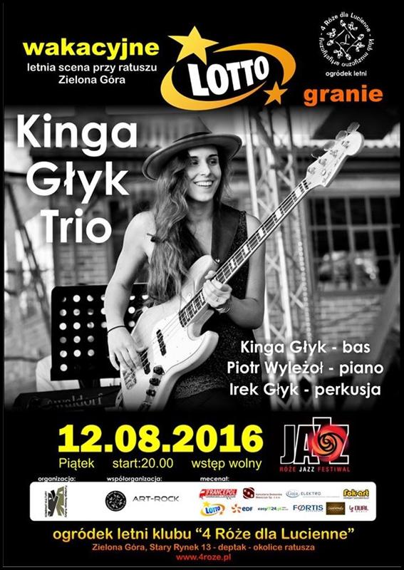 2016_08_12_Roze_Jazz_Festiwal_ Kinga_Glyk_Trio_plakat