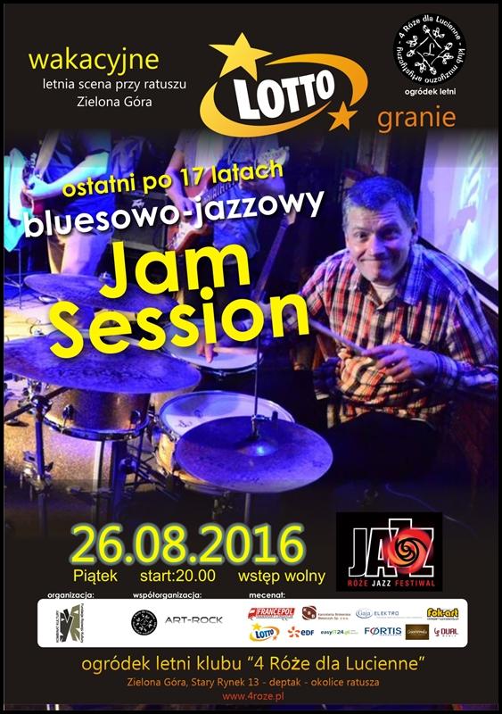 2016_08_26_Roze_Jazz_Festiwal_ Bluesowo_Jazzowy_Jam_Session_plakat